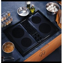 GE Select-Top Modular Downdraft Cooktop