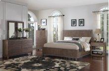 Vista - 6 Piece Queen Panel Bed Set