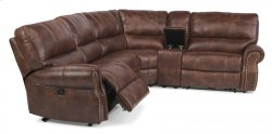 Carlton Fabric Power Reclining Sectional Product Image