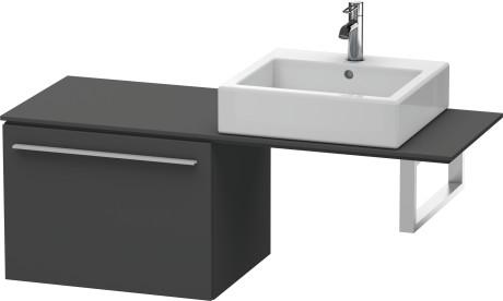 Low Cabinet For Console, Graphite Matt (decor)