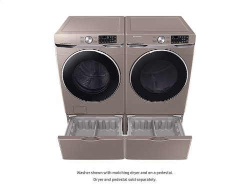 WF6300 4.5 cu. ft. Smart Front Load Washer with Super Speed