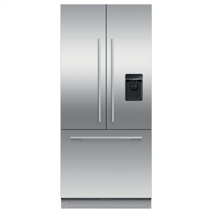 "Fisher & PaykelIntegrated French Door Refrigerator Freezer, 32"", Ice & Water"