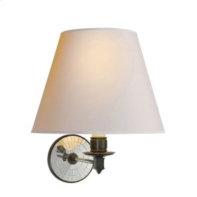 Visual Comfort AH2016GM-NP Alexa Hampton Ida 1 Light 12 inch Gun Metal Decorative Wall Light