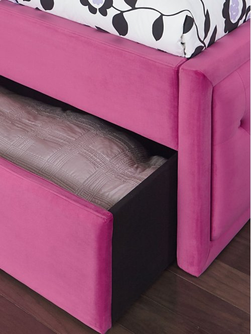 Uph Pink Rails, W/trundle, 3/3