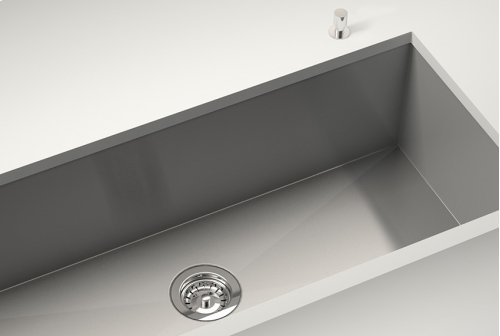 """Drain 100120 - Stainless steel sink accessory , Polished Chrome, 3 1/2"""""""