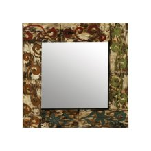 Colorful Engravings Mirror