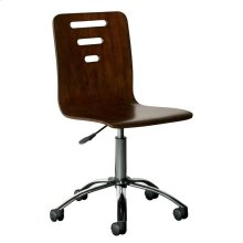 Teaberry Lane Midnight Cherry Desk Chair