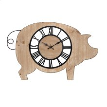 Piggie Wall Clock