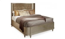 Morrissey Queen Lloyd Upholstered Shelter Bed