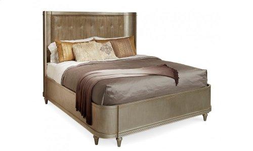 Morrissey Queen Lloyd Upholstered Shelter Bed
