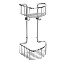 Double Corner Soap Basket