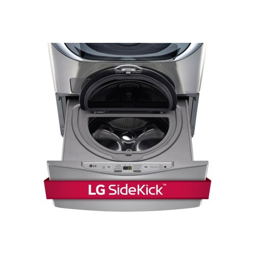 6.2 Total Capacity LG TWINWash System with LG SideKick