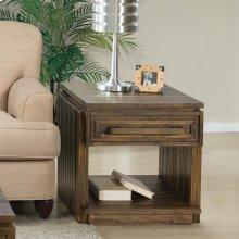 Modern Gatherings - Side Table - Brushed Acacia Finish