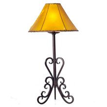 Forged Iron Table Lamp 005 (without shade)