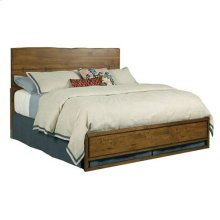 Traverse Craftsman Live Edge Bed 5/0 Complete