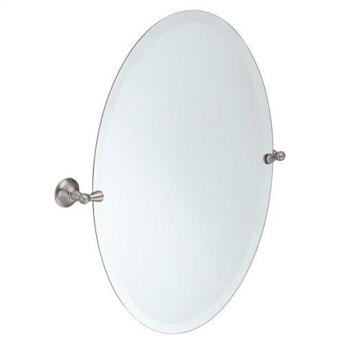 Sage brushed nickel mirror