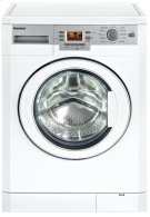 """24"""" 1000 rpm LCD washer, 1.95 cu ft load capacity, white (22"""" deep) Product Image"""