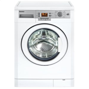 "Blomberg Appliances24"" 1000 rpm LCD washer, 1.95 cu ft load capacity, white (22"" deep)"