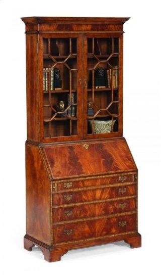 Georgian Style Mahogany Cabinet with Glazed Bars