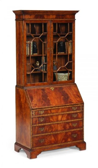 Georgian Style Mahogany Cabinet for Glazed Bars
