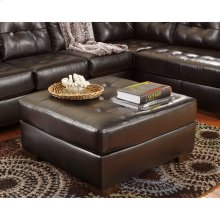 Signature Design by Ashley Alliston Oversized Ottoman in Chocolate DuraBlend [FSD-2399OTT-CHO-GG]