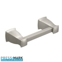 Hensley brushed nickel pivoting paper holder