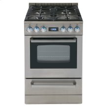 "24"" Deluxe Gas Range - Elite Series"