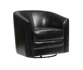 Emerald Home Milo Swivel Chair Black U5029c-04-16