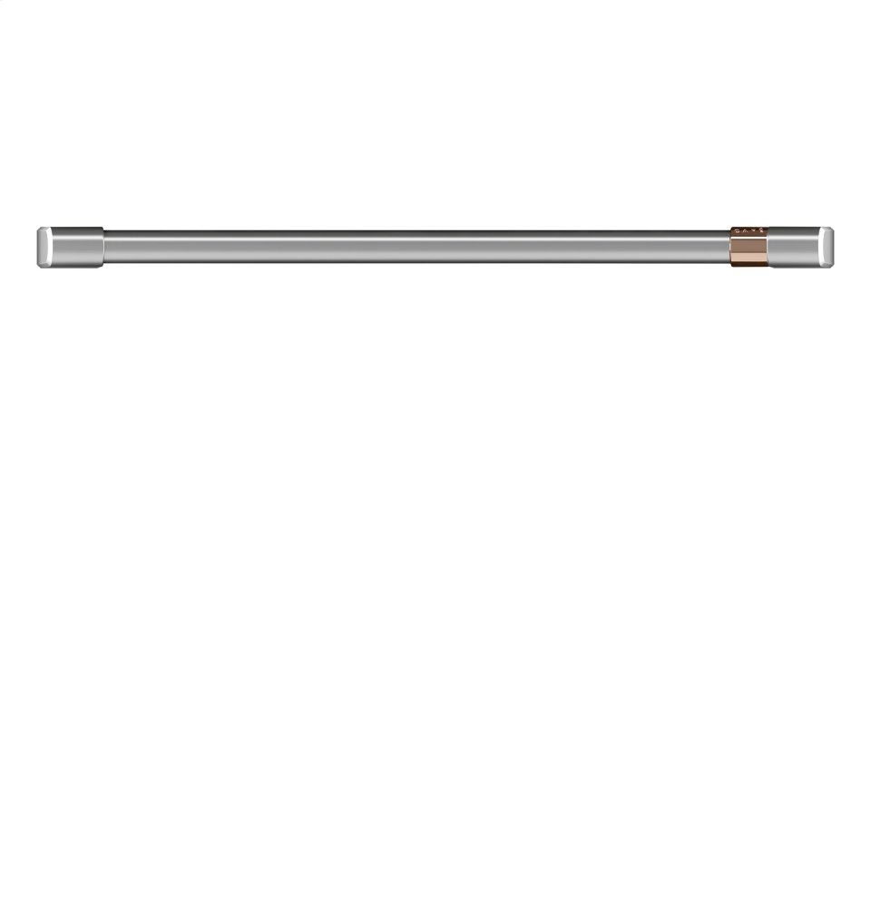 "Caf(eback) 30"" Single Wall Oven Handle - Brushed Stainless