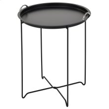 Flint Accent Table in Black