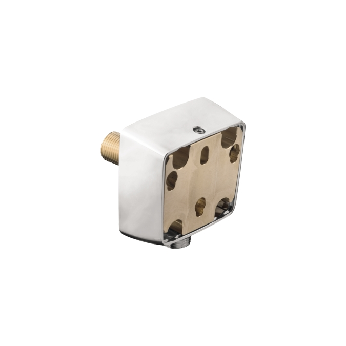Chrome Raindance E Allrounder Wall Outlet Adapter with Hose Connection