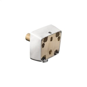 Chrome Raindance E Allrounder Wall Outlet Adapter with Hose Connection Product Image