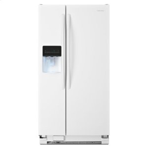 AmanaAmana(R) 32-inch Wide Side-by-Side Refrigerator with Adjustable Door Bins -- 21 cu. ft. Capacity - White