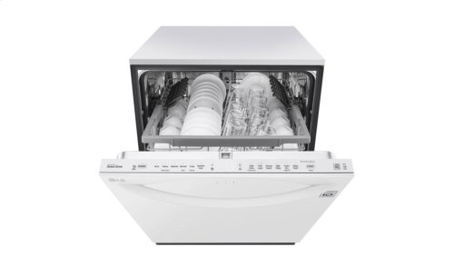 Top Control Smart wi-fi Enabled Dishwasher with QuadWash - CLEARANCE ITEM