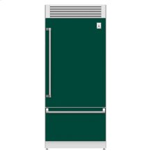 "36"" Pro Style Bottom Mount, Top Compressor Refrigerator - KRP Series - Grove"
