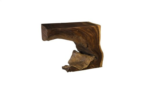 Chamcha Wood Console Table, Small