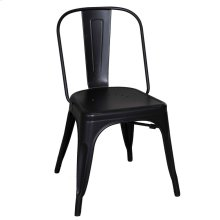 Bow Back Side Chair - Black