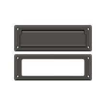 """Mail Slot 8 7/8"""" with Interior Frame - Oil-rubbed Bronze"""