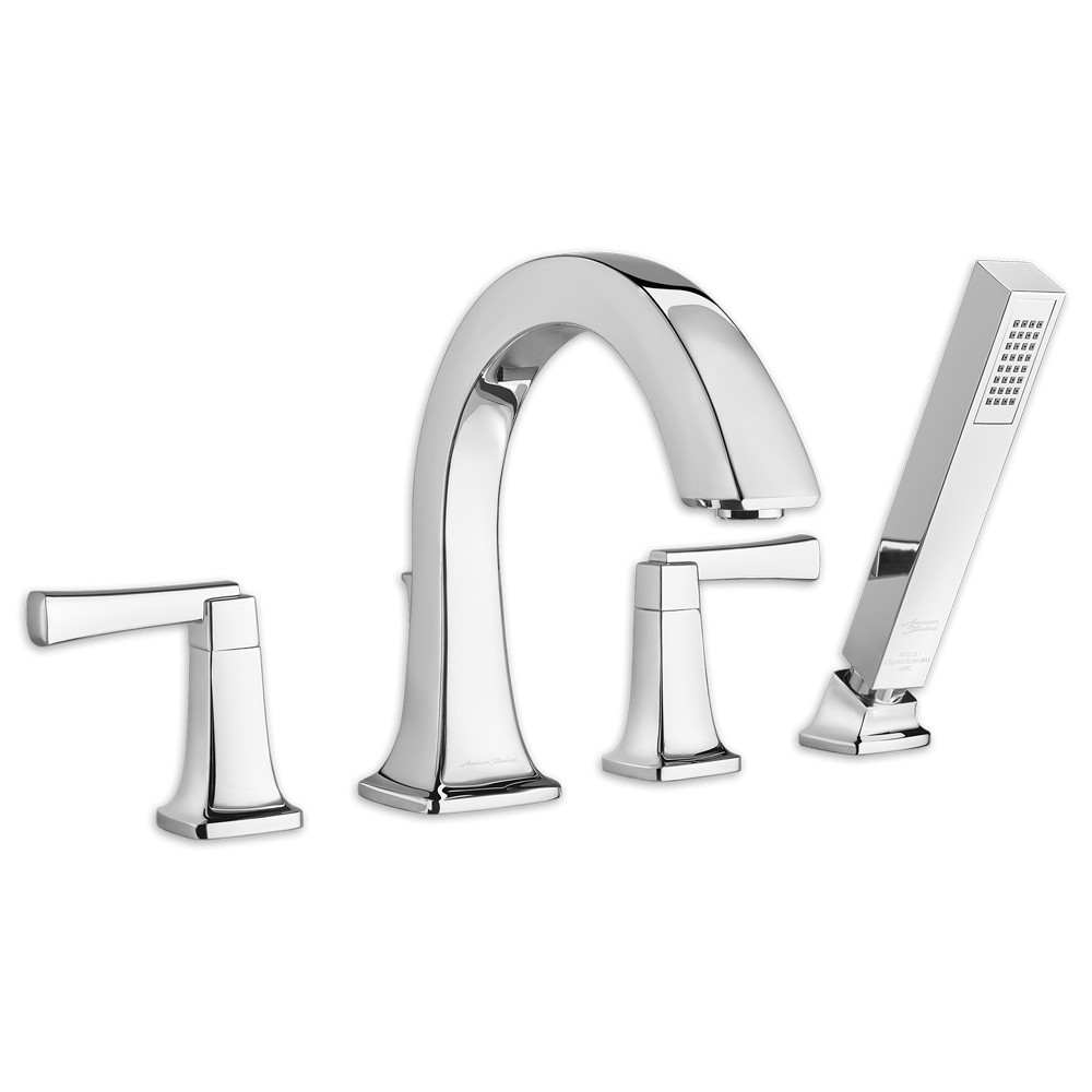 Townsend Deck Mount Bathtub Faucet With Hand Shower American Standard    Polished Chrome