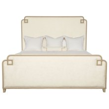 Queen-Sized Savoy Place Upholstered Bed