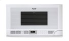 1.5 cu. ft. 1100W Sharp White Over-the-Counter Carousel Microwave Oven (R-1211) Product Image