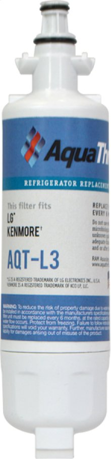 Refrigerator Replacement Filter fits in place of LG LT700P comparable models