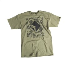 Army Green T-shirt w/ Black RF graphic-M
