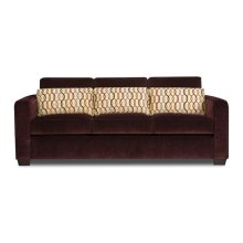Wood Accent Ottoman