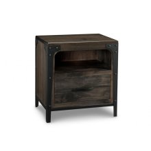 Portland 1 Drawer Nightstand