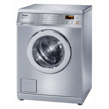 W3000 Series Washing Machines Model: W3035 ™. 2.52 ft 3 capacity (IEC equivalent). Stainless steel Honeycomb TM wash drum. Advanced Touchtronic Controls. Display function. 24-hour delay start. Digital program countdown display. Fault indicators. Child lock feature. Self diagnostics. PC update function. Interior light. Cast iron cradle. Hydraulic suspension. 139 kWh consumption per year. 110  volts.
