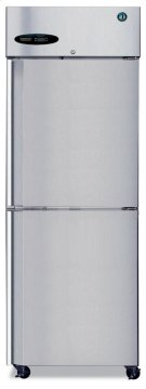 Refrigerator, Single Section Upright, Half Stainless Door Product Image