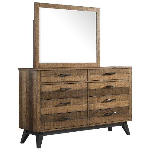 Bedroom - Urban Rustic Bedroom Mirror