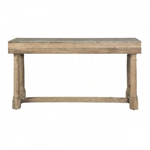 Miranda Stone-Top Console Table
