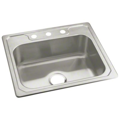 "Middleton® Single-basin Kitchen Sink, 25"" x 22"""